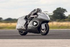 Record velocidad hayabusa Guy Martin video