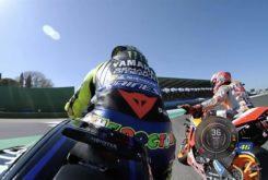 Valentino Rossi Marc Marquez incidente Q2 Pole GP Misano 2020