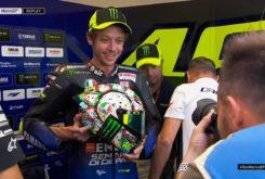 Valentino Rossi casco MotoGP Misano 2019