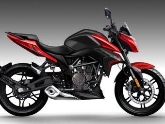 Voge 300R 2020 roja