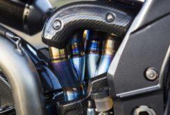 moto PGM V8 400 cv 2000 cc escape akrapovic