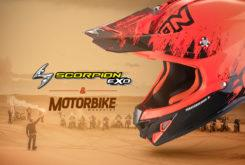 scorpion 1000 dunas motorbike