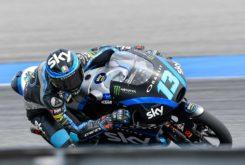 Celestino Vietti pole Moto3 Tailandia 2019