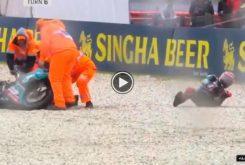 Fabio Quartararo caida MotoGP Australia 2019