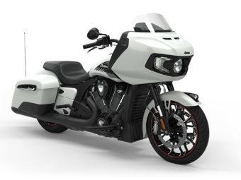 Indian Challenger Dark Horse 2020 blanco