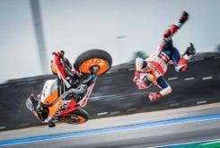 Marc Marquez caida MotoGP Tailandia 2019 02