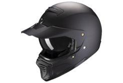 Scorpion exo fighter solid matblack peakvisor
