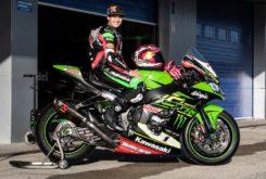 Ana Carrasco prueba Kawasaki ZX 10RR SBK Jonathan Rea