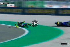Caida Valentino Rossi MotoGP Valencia 2019 01