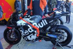 KTM RC16 2020 chasis viga aluminio tests motogp2