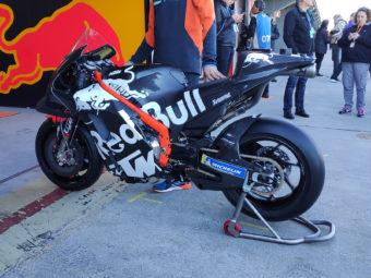 KTM RC16 2020 chasis viga aluminio tests motogp4