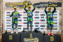 Kawasaki Team Green Cup supercross internacional barcelona podio