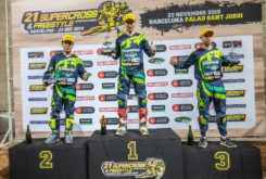 Kawasaki Team Green Cup supercross podio