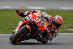 Marc Marquez caida MotoGP Sepang 2019