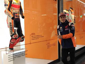 Marc Marquez exposicion monos Repsol Madrid (5)