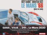 Motul sorteo viaje Le Mans '66