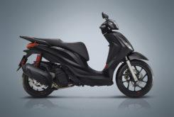 Piaggio Medley 125 150 s 2020 estudio perfil negra