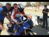 VIDEO Wayne Rainey rides Yamaha YZF R1 2020