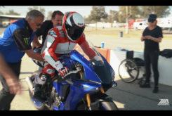 Wayne Rainey rides Yamaha YZF R1 2020