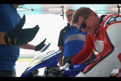 Wayne Rainey rides Yamaha YZF R1