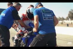 Wayne Rainey video pilota Yamaha YZF R1 monta en moto
