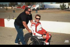 Wayne Rainey video rides Yamaha YZF R1 monta en moto