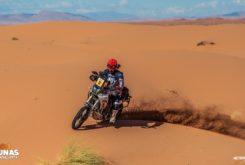 1000 dunas raid prueba Motorbike Magazine Yamaha Tenere 700 cabras sobre ruedas