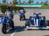 Ducati Panigale V4R policia Abu Dabi F2