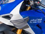 Ducati Panigale V4R policia Abu Dhabi
