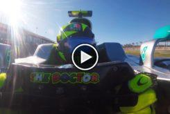 Valentino Rossi Mercedes F1 vuelta on boardPlay
