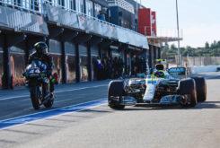 Valetino Rossi Lewis Hamilton Valencia 2019 27