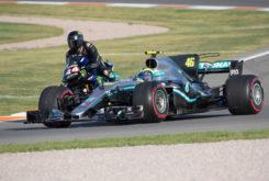 Valetino Rossi Lewis Hamilton Valencia 2019 38
