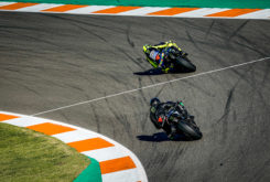 Valetino Rossi Lewis Hamilton Valencia 2019 43