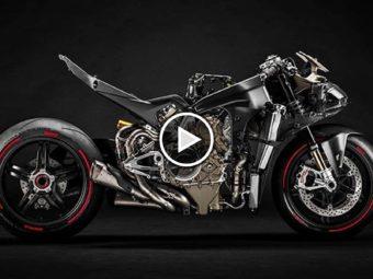 Ducati Superleggera V4 2020 BikeLeaks video (1)