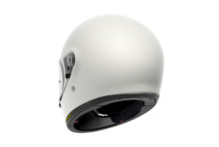 Shoei glamster casco moto atras
