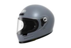 Shoei glamster casco moto gris