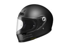 Shoei glamster casco moto negro mate