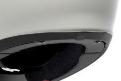 Shoei glamster casco moto ventilacion trasera