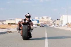moto 1 rueda artesanal