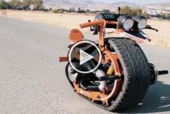 video moto 1 rueda artesanal preparacion