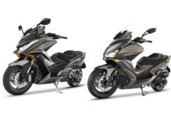 KYMCO AK 550 Xciting S 400 2020 marron