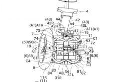 Kawasaki bikeleaks moto 3 ruedas patente filtrada