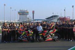 Presentacion Aprilia MotoGP 2020 Espargaro Iannone