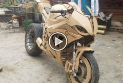 Video BMW S 1000 RR replica carton
