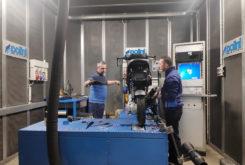 Visita Fabrica Polini banco potencia