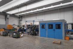 Visita Fabrica Polini montaje