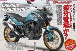 Honda Africa Twin CRF850L Transalp 2021