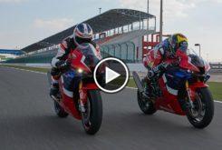 Honda CBR1000RR R Qatar onboard Leon Haslam play