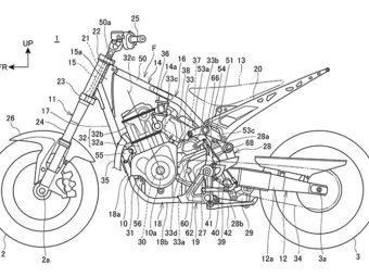 Honda CRF1000L Africa Twin motor bikeleaks patente 1