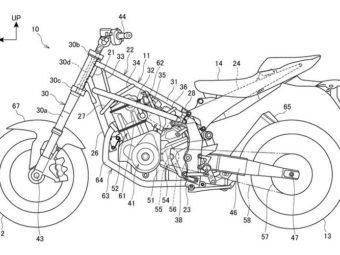 Honda CRF1000L Africa Twin motor bikeleaks patente filtrada carretera
